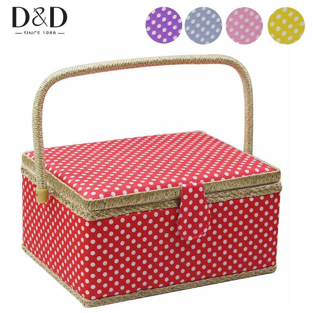 Buy One Get Free Sewing Kit Accessories Home Sewing Basket DIY Cotton Fabric Crafts Multi function