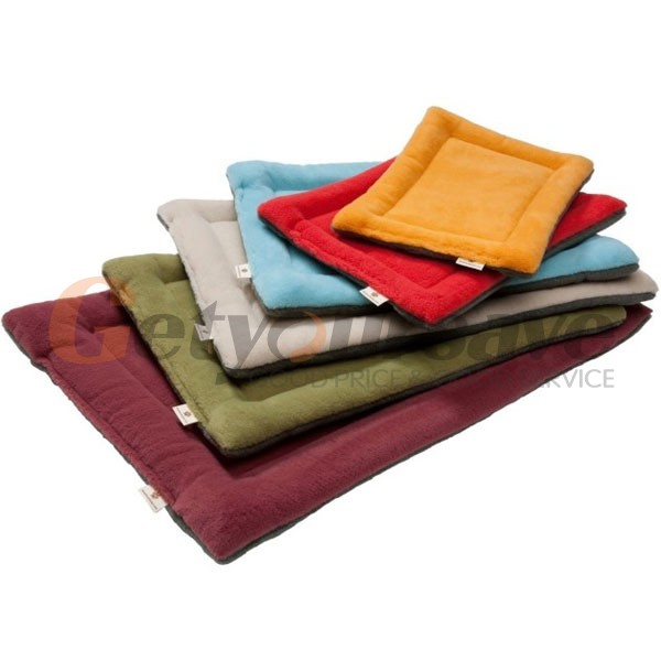 Soft Cozy Pet Dog Crate Mat Kennel Cage Pad Bed Pet Cushion 5 Colors
