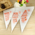 2016 Cake Disposable Piping Icing Bags Flower Model Pizza Decoration Cream Pastry Bag Cake Decorating Bags Tool 100Pcs