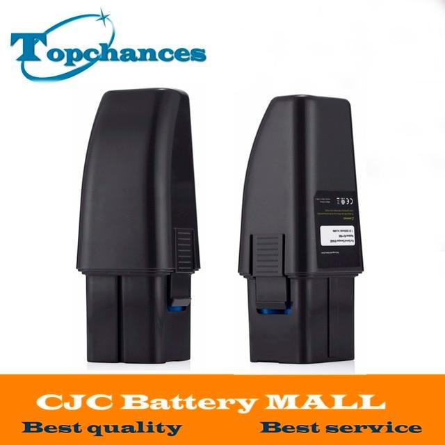 2PCS High Quality 7.2V 2000mAh Black Vacuum Battery Fits For Ontel Swivel Sweeper G1 & G2; Compare to Part # RU-RBG