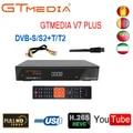 GTMEDIA V7 PLUS 1080P Full HD DVB-S/S2 + T/T2 поддержка H.265 Newam Youtube USB Wifi VS FREE SAT V7 COMBO
