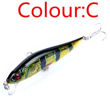 1Pcs 10cm 10g Minnow Fishing Lure Wobblers Crankbait artificiais para pesca Japan Hard Bait Swimbait fishing tackle FA-412