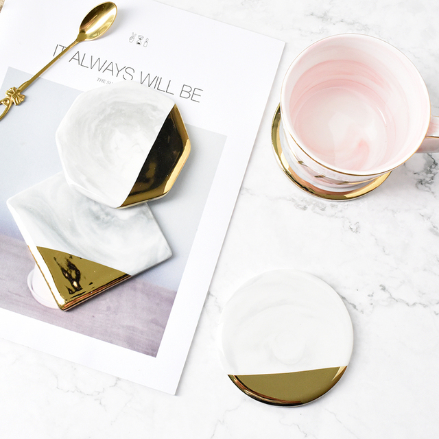 Marble Ceramic Coaster