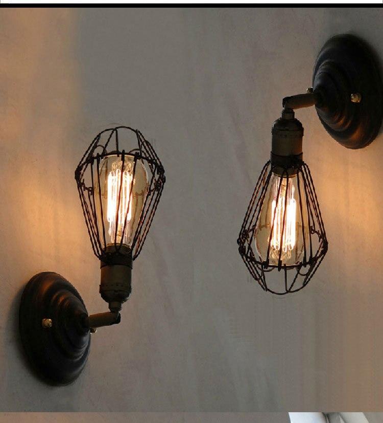cheap vintage lighting. loft vintage metal coffee bar wall lights black bulb tube balcony ajustable sconces country cheap lighting o