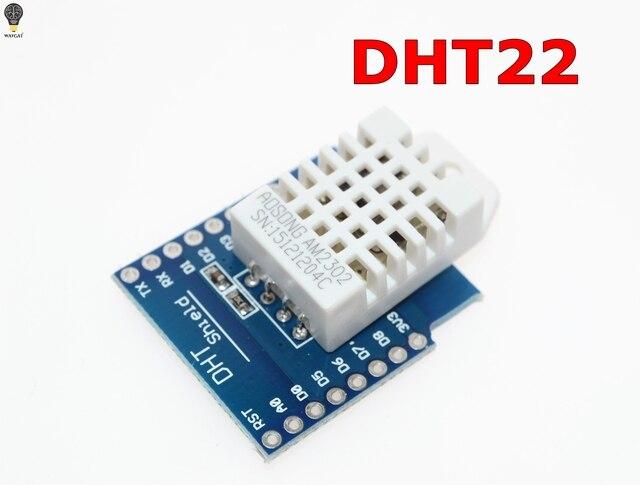 DHT Pro Shield for WAVGAT D1 mini DHT22 Single-bus digital temperature and humidity sensor module sensor