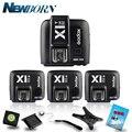 GODOX триггер вспышки X1N TTL 2 4G беспроводной передатчик + 3 x X1R-N комплект приемника для Nikon D800 D3X D3 D2X D2H D1H D1X D300 D200