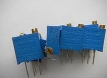 50 ШТ. 3296 Вт 102 1 К Подстроечный Резистор Триммер Потенциометр Высокоточный 3296 Переменные Резисторы