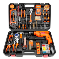 1set hardware toolbox electrical woodworking multifunctional maintenance tool