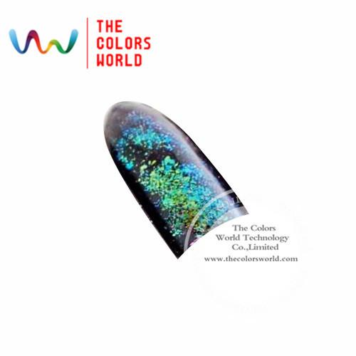 TCWB189 Copos Copos de Efecto Mágico de gran tamaño camaleón Camaleón para el Arte de uñas esmalte de uñas y otros decoración de DIY