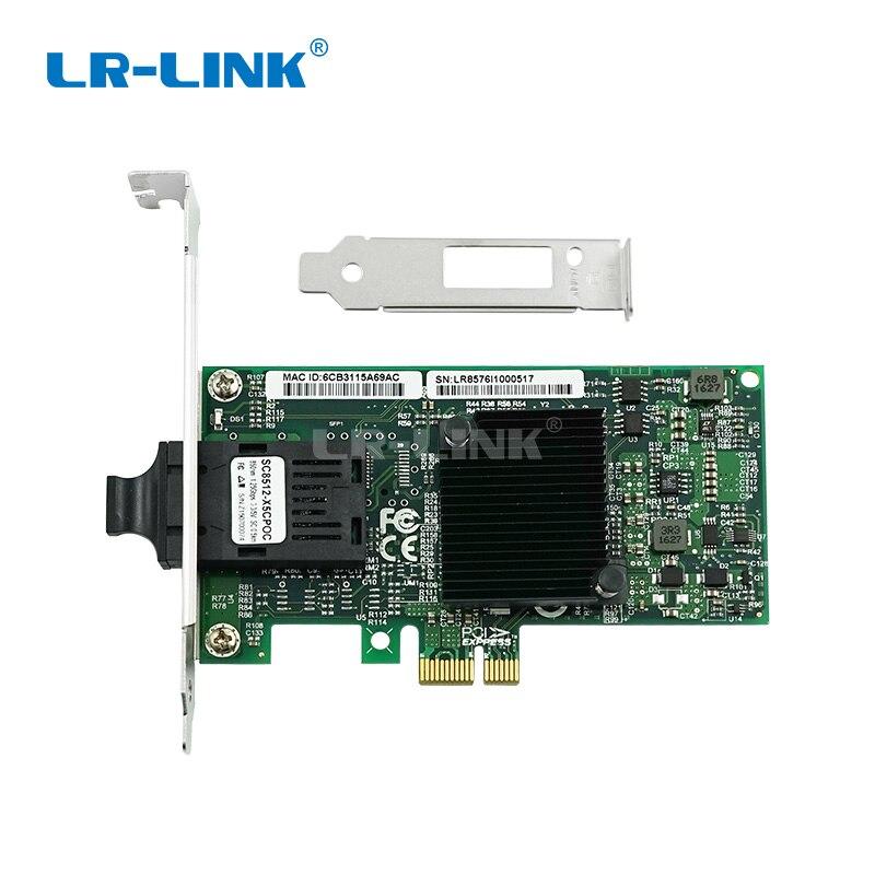 Image 3 - LR LINK 9260PF Gigabit Ethernet Network Card 1000base lx PCI Express Fiber Optical Lan Card Server Adapter Desktop Intel 82576-in Network Cards from Computer & Office