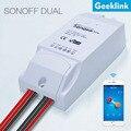 Geeklink sonoff diy wifi monitor de larga distancia interruptor de control remoto para el hogar inteligente de apoyo 2g/3g/4g red tipo de temporizador