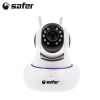 SAFER Wireless IP Camera Wifi 1080P Full Hd CctvCamera Home P2P Security Surveillance Two Way Audio