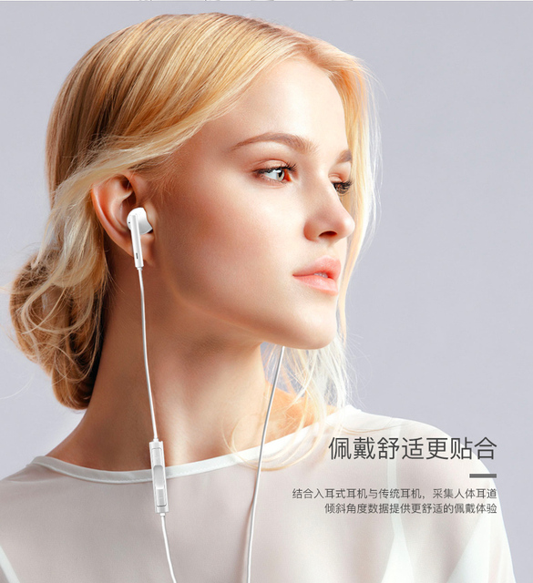 HUAWEI  Earphone  Eerbuds USB TYPE C Earpiece + Mic Volume Control For Mate 10 Mate 10 Pro P20 P20 Pro