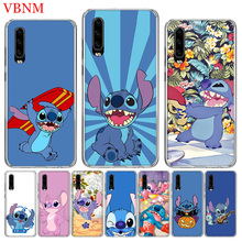 Disneys Stitchs Cute Fashion Phone Case For Huawei P30 P20 Mate 20 10 Pro P10 lite P Smart + Plus Z 2019 Customized Cover Cases