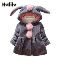 Halilo Baby Girl Winter Coat Autumn Warm Newborn Baby Girl Jackets And Coats Faux Fur Kids