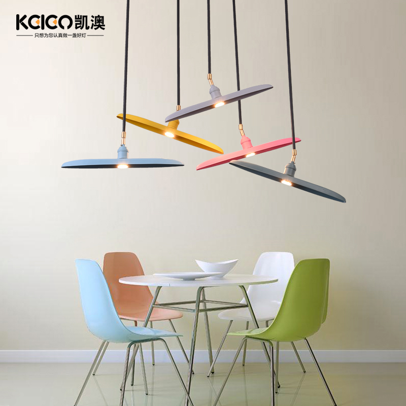 danish design modern art pendant light iron Macarons color Restaurant Bar Cafe hanging light danish design iq12q878slwh
