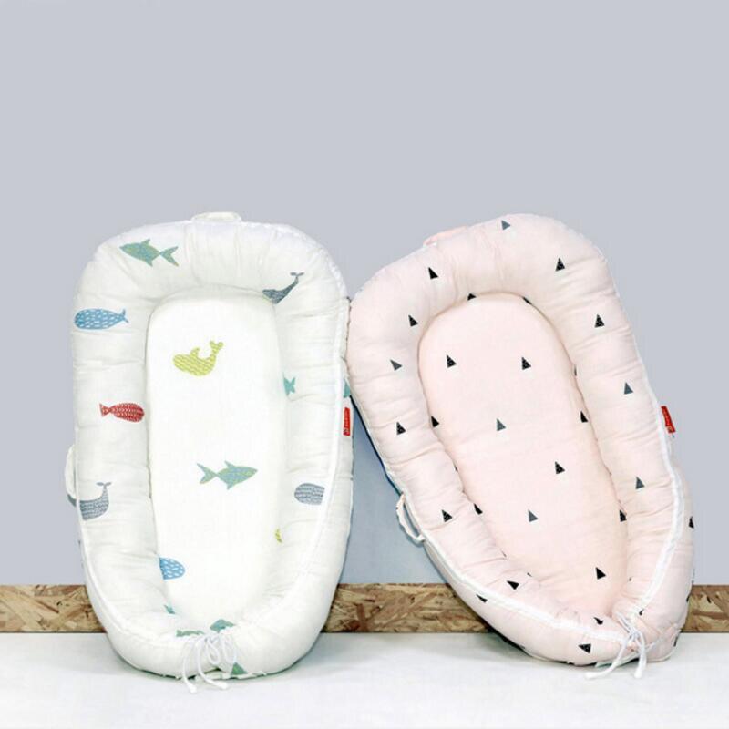 Bébé nid lit berceau pratique petit lit complet gaze cberceau nouveau-né séparateur lit Multi fonction lavable lit bébé soin