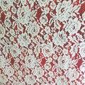 Кружевная ткань цвета слоновой кости  кружевная ткань для невесты  кружевная Ткань alencon