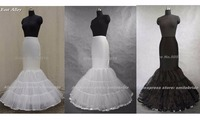 Standard Size USA SIZE 2 To 14 Mermaid Trumpet Wedding Dress Petticoat Crinoline Underskirt Full Slip