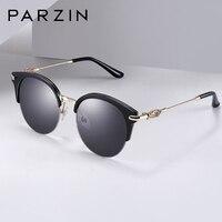 PARZIN нейлоновые поляризованные солнцезащитные очки для женщин винтажные кошачий глаз женские Солнцезащитные очки женские аксессуары для з