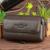 Genuine Cuero Real Celular/Caja Del Teléfono Móvil Cubierta de la Piel de La Correa de La Cintura bolsa de Los Hombres Ocasionales de La Vendimia Primera Capa de piel de Vaca Hip Bum Fanny paquete