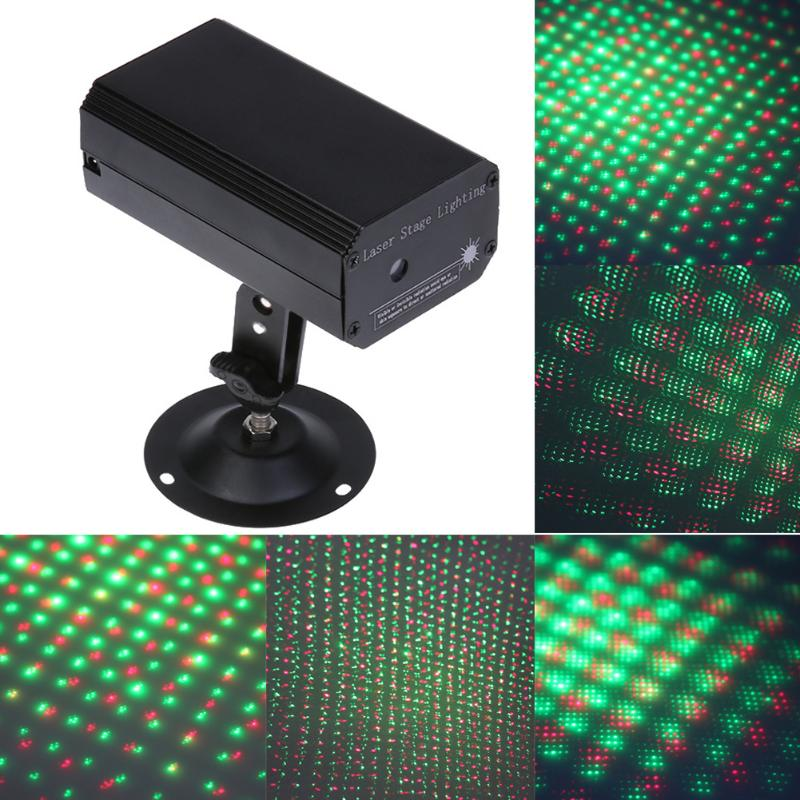 LED Twinkling Star Stage Lighting Project Sound Control Mini Laser Light Laser Stage Effect Light Party Disco Club DJ Light rg mini 3 lens 24 patterns led laser projector stage lighting effect 3w blue for dj disco party club laser