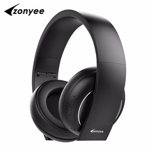 Zonyee best flagship F5 Headphone wireless Bluetooth 4.1 With Mic Soft Earmuffs Noise Cancelling Stereo Sound Bluetooth Headset