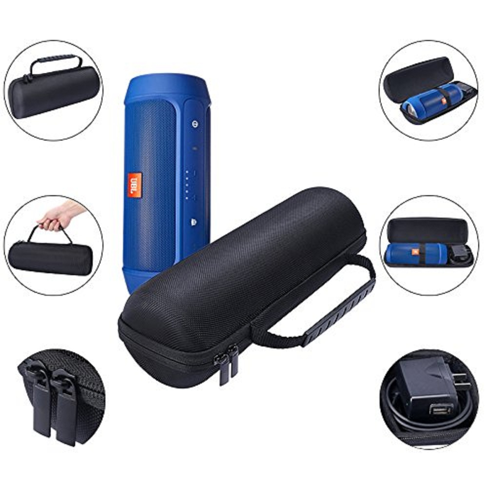 New pu carrying travel protective speaker cover pouch bag for Housse jbl charge 2