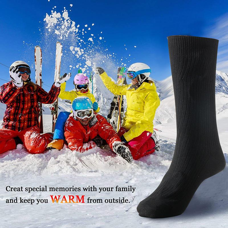 Warmski Unisex Thermal Cotton Heated Socks 13