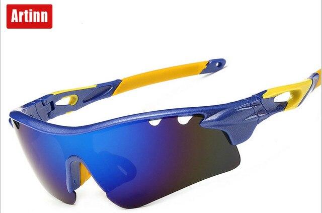 5a426d35baf9 Artinn Polarized Sunglasses Olahraga Penahan Angin Pasir Kacamata  Perjalanan Mendaki Gunung Olahraga Kacamata 98502G