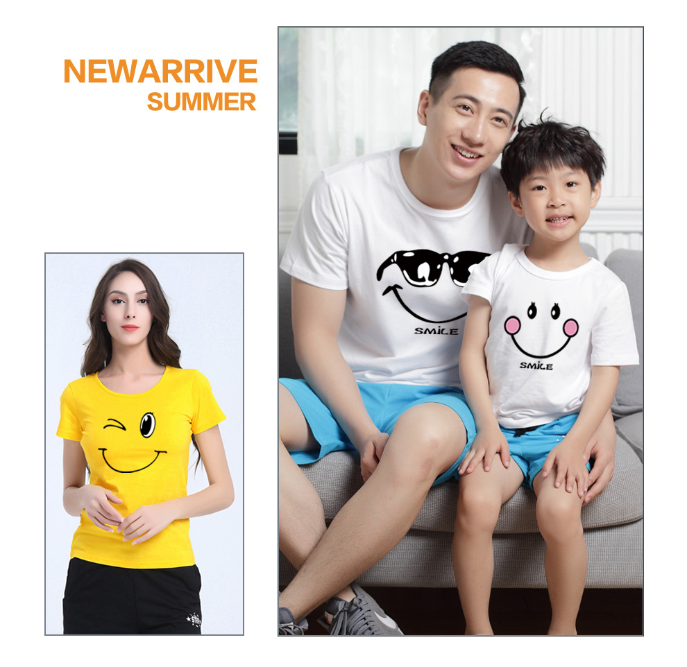 HTB1z38dRVXXXXahXpXXq6xXFXXXC - family matching clothes Mother daughter dresses outfits cotton casual T-shirts family Look cotton mother father son clothing
