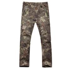 TAD Military Camo  Shark Skin Tactical Pants Waterproof Men Outdoor Sport Trousers Hunting Tactical Pants Hiking Camping Pants