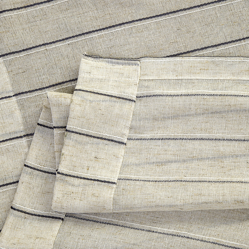 Japan Style Linen Curtains For Kitchen Tulle For Living Room Window Curtain For Bedroom Office, Hotel Fabric Roman Blinds 1PC