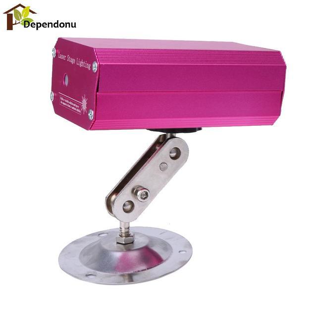 Mini led padrão de laser disco party light stage lighting projetor rosa efeito show de luz para disco party dj luzes