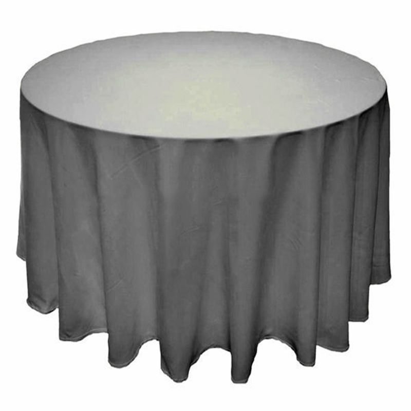 Hotel-Tablecloths-Wedding-Favors-Silver-Table-Cloth