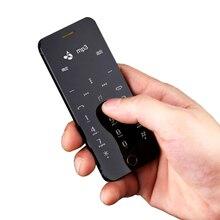Anica A9 + MP3 Дистанционного управления FM dual sim-карта наберите синхронизации OLED сенсорный дисплей анти-потерянный мини кредитной карты сотового мобильного телефона P246