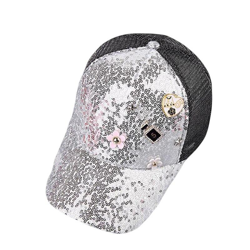 BINGYUANHAOXUAN Fashion Summer Mesh Hat Child Baseball Cap Snapback Hat For Boy Snapback Caps Bling Bling Hip Hop Hat Sun Cap in Men 39 s Baseball Caps from Apparel Accessories