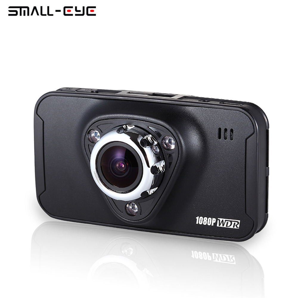 Small-eye Car DVR Camera Dashboard Video Recorder Dash Cam Vehicle Camcorder Full HD Novatek 96650 170 Wide Angle Night Vision full hd 1080p car dvr video camera on cam dash camera car camcorder 2 4inch g sensor dash cam recorder night vision
