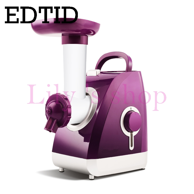 EDTID MINI Automatic Fruit ice cream maker household electric DIY ice cream machine for child Frozen Yogurt Dessert Cool Summer hot selling electric yogurt machine stainless steel liner mini automatic yogurt maker 1l capacity 220v