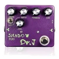 Dr J Shadow Echo Hand Made Analog Delay Echo Electric Guitar Effect Pedal Efeito True Bypass