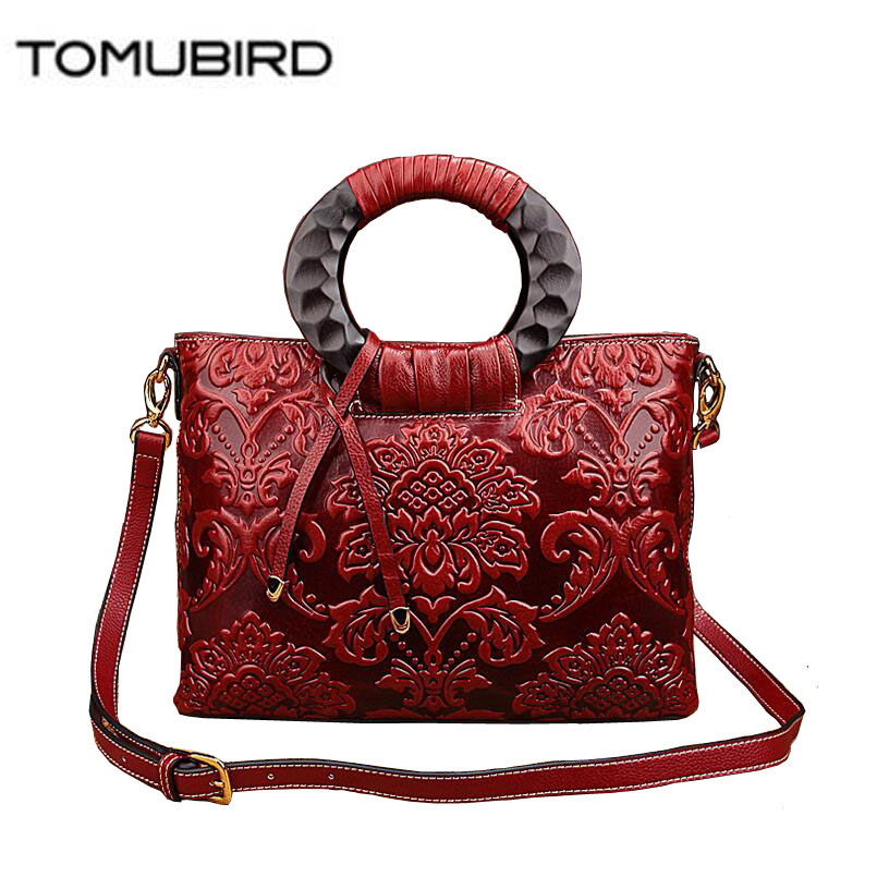 TOMUBIRD 2016 new superior leather designer famous brand women bags embossing luxury genuine leather handbags shoulder bag tomubird new original hand embossed superior leather designer bag famous brand women bags genuine leather handbags shoulder