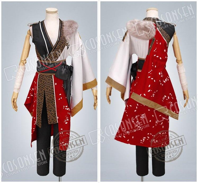 COSPLAYONSEN Ensemble Stars AKATSUKI Kanzaki Souma Cosplay Costume red white Full Set