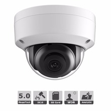 CCTV Ip camera 5mp DS 2CD2155FWD IS Network Dome Cam H 265 3DNR IP66 audio Video