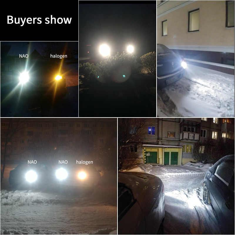 NAO P21W Led BAY15D PY21W BA15S Putih 1300Lm Mobil LED Bulb P21/5 W Turn Signal 1156 3030 6000K T20 W16W T15 W21/5 W 7443 W21W 7440