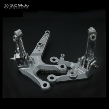 For YAMAHA MT25 MT 25 MT-25 2015-2016 Motorcycle Front Left Right Footrest Foot Pedal Peg Pegs FootPegs Mount Bracket CNC