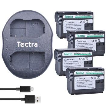 Tectra 4pcs EN-EL15 ENEL15 Digital Camera Battery +USB Dual Charger for Nikon D600 D610 D600E D800 D800E D810 D7000 D7100 D750