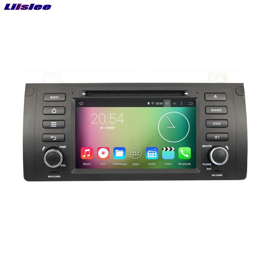 Liislee pour Land pour Rover 2002 ~ 2004 lecteur DVD de voiture multimédia Audio vidéo Radio GPS Navi multi-touch écran Bluetooth stéréo