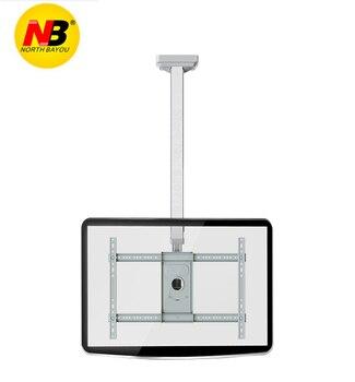 """NB T3260 Full Rotating height Adjustable 40""""-65"""" Ceiling TV Mount Bracket LED LCD Monitor Holder"""