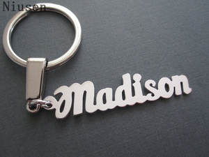 Keychain Key-Ring Letter Gift Any-Name Custom Personalized-Name Initial Best-Friends