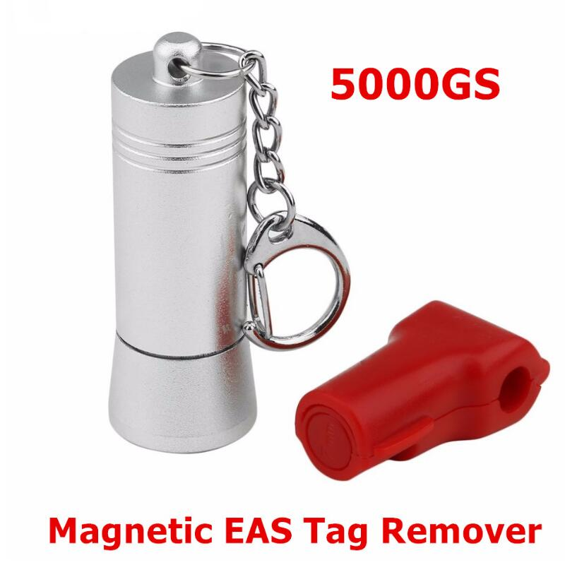 Mini Magnetic EAS Tag Remover Portable Manetic Bullet Security Tag Detacher Key Lockpick Anti-theft EAS system protection 20000gs golf detacher security tag remover opener unlock eas tag detacher anti theft unlocking device strong magnetic force